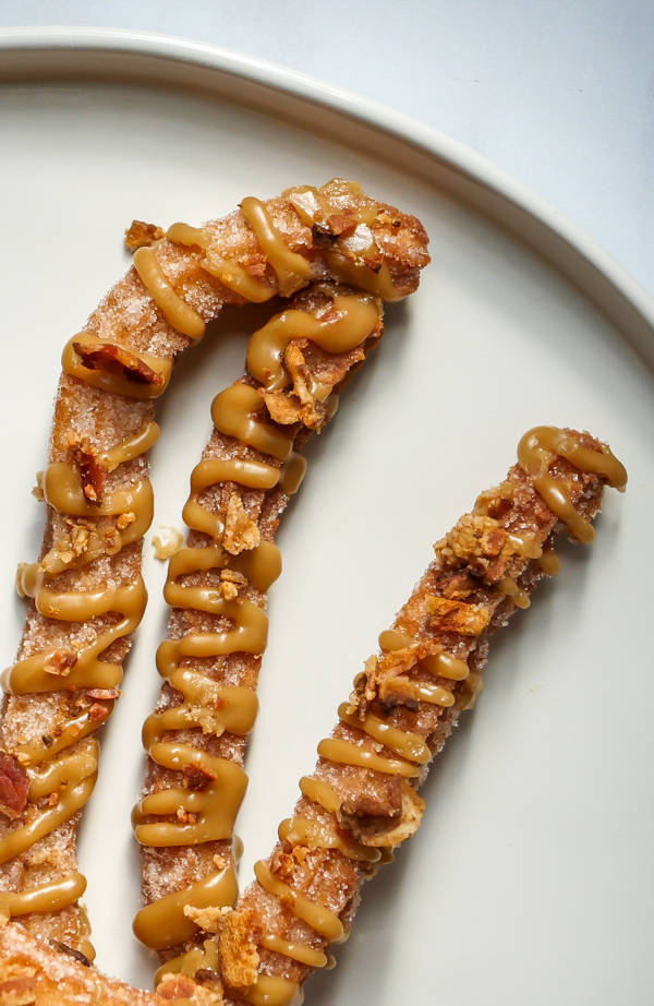 Maple-Bacon Churros // magicaltreatsathome.com