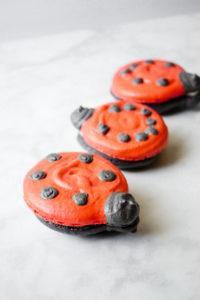 Main Street Electrical Parade Ladybug Macarons // magicaltreatsathome.com