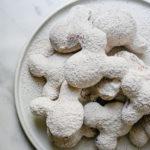 MIckey Mouse Pumpkin Spice Beignets // magicaltreatsathome.com