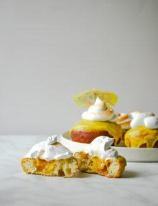 Pineapple Donut a.k.a. The Dole Whip Donut // magicaltreatsathome.com