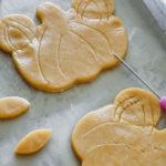 Mickey Mouse Pumpkin Cookie // magicaltreatsathome.com