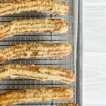 Christmas Tree Churros // magicaltreatsathome.com