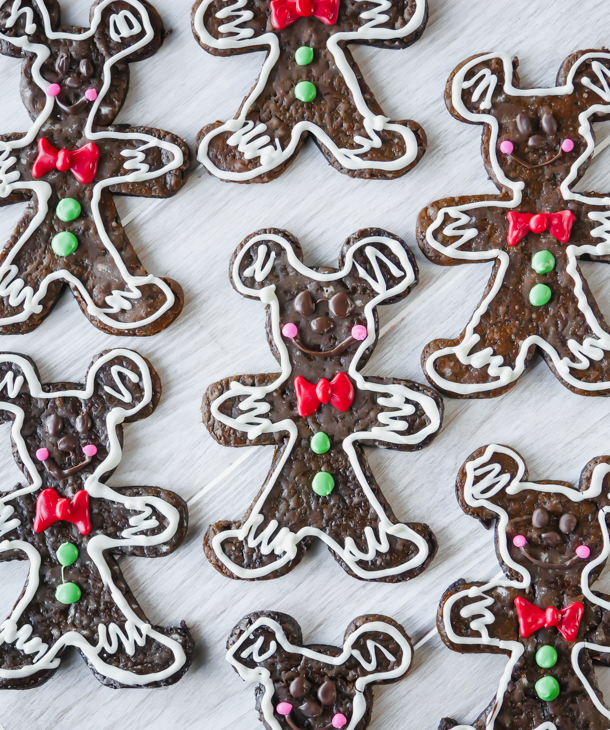 Mickey Mouse Gingerbread Man // magicaltreatsathome.com