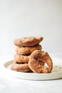 Churro Gears (Doughnuts) // magicaltreatsathome.com