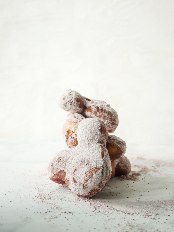 Mickey Mouse Chocolate Strawberry Beignets // magicaltreatsathome.com