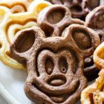 Mickey Mouse Waffles Three Ways // magicaltreatsathome.com