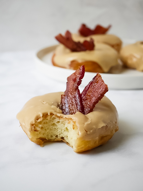 Maple Bacon Doughnut // magicaltreatsathome.com