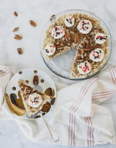 Pecan Pie Crispy Treat // magicaltreatsathome.com