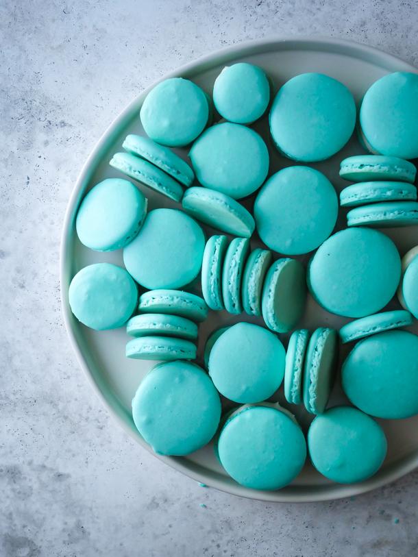 Mandalorian Macarons // magicaltreatsathome.com